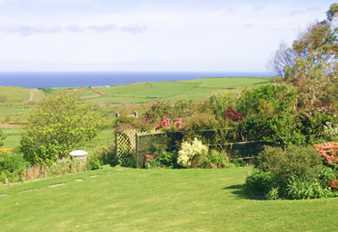 View from Ballamenagh over the Irish Sea, Isle of Man