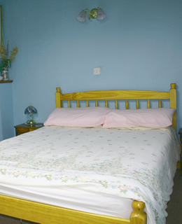 Ballamenagh Cottage bedroom, Isle of Man